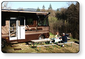 Guest First Resorts properties offer relaxing RV and tent camping for the whole family