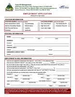 Download the Guest First Employment Application